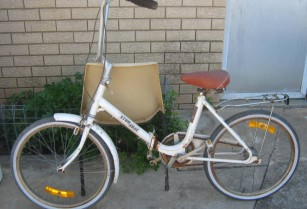 bike stow away .