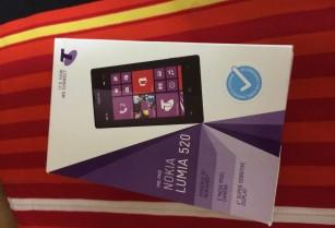 TELSTRA/ALDI/BOOST NOKIA LUMIA 520 WINDOWS 8+NEXT G+3G+BLUE TICK+1GHz+WIFI+GPS